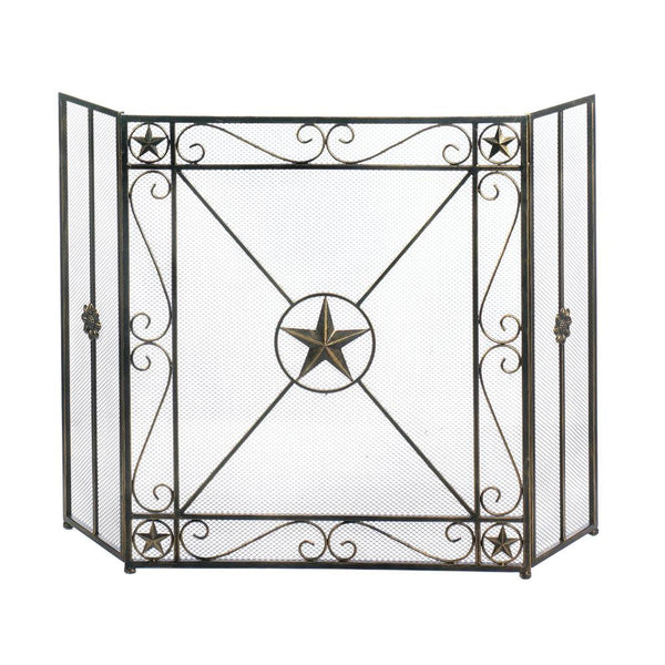 Fireplace Accessories-Screen-Lone Star