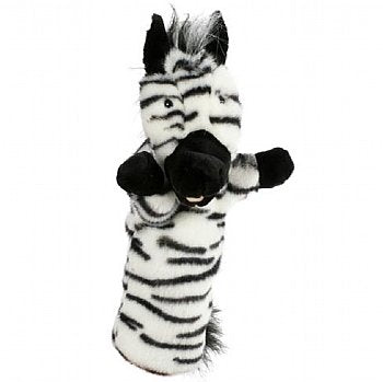 Animal Puppet-Long Sleeved Hand Puppet-Zebra