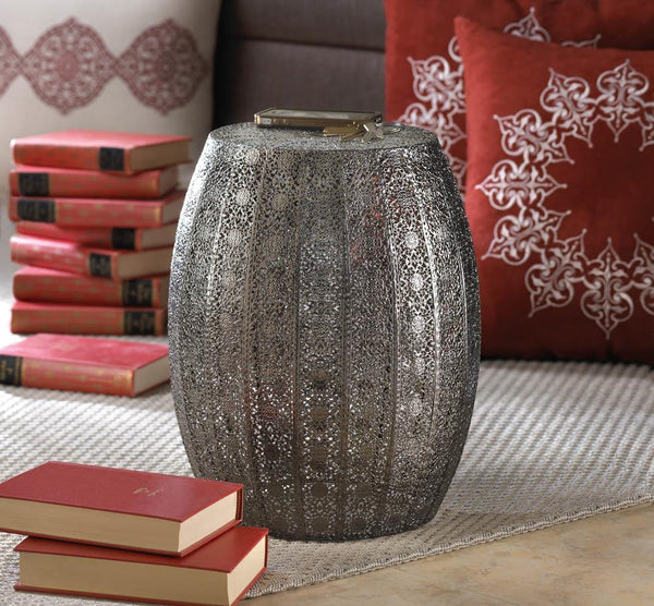 Decorative Stool-Moroccan Lace