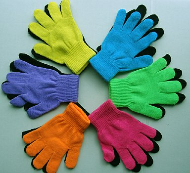 Creative Children-12 Pairs Gloves-Mime Imaginative Play