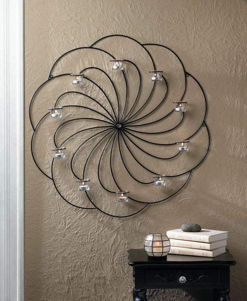Wall Sconce-Pinwheel-Cozy Home
