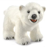 Animal Puppet-Polar Bear Cub-Heirloom Design