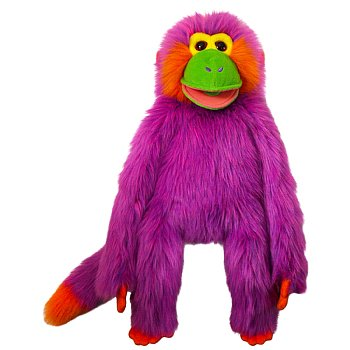 Animal Puppet-Purple Magic Monkey