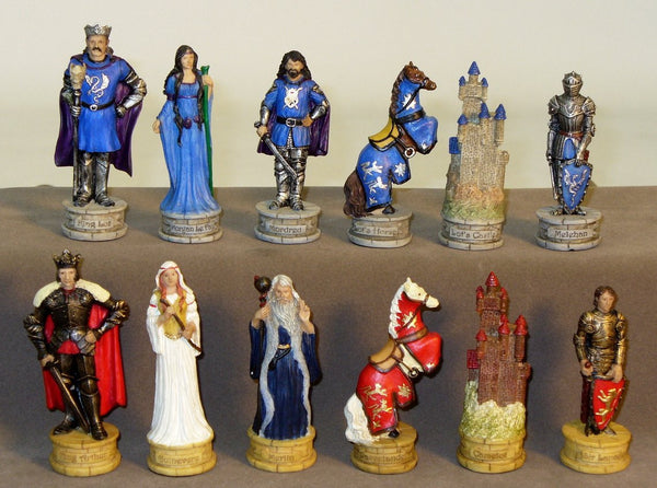 King Arthur's Court Chessmen - Seasonal Expressions