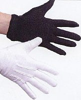 Blacklight White Gloves- OR-Black Hidden in Blacklight