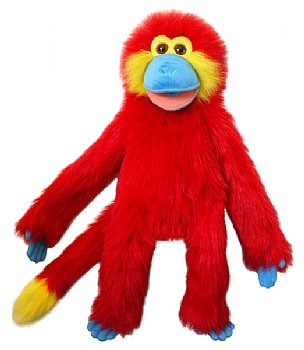 Animal Puppet-Chili Red Magic Monkey