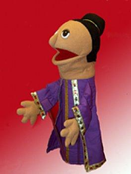 Puppet Ministry-Queen-16 inch Puppet-Bible Time Collection