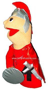 Puppet Ministry-Roman Soldier-Half Body Puppet-Bible Time Collection