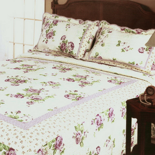 Bedding-Quilt Set-Full-Queen-Rowena