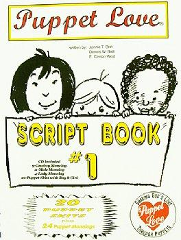 Puppet Scrips-Ministry-Puppet Love-Holiday Book-1-CD