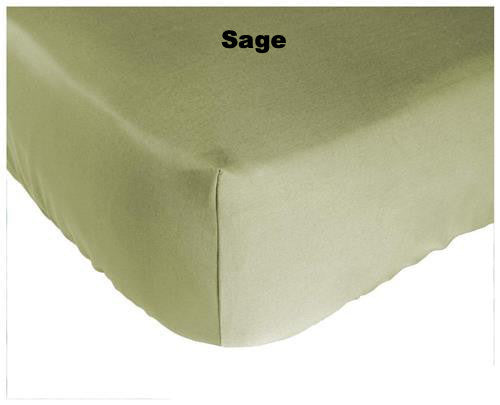 Bedding-Rayon from Bamboo-Baby Crib Fitted Sheet-Bed Voyage