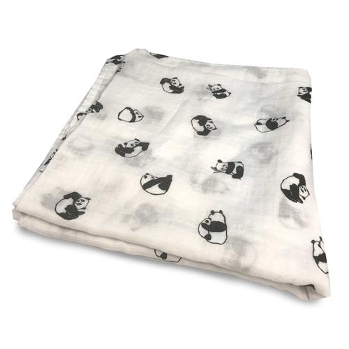 Baby Bedding-Panda Baby-Swaddle-Bed Voyage