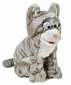 Animal Puppet-Silly Gray Kitty