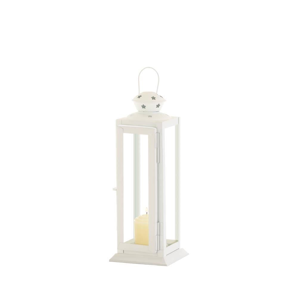 Lantern-Cutout Stars-White-Cozy Home