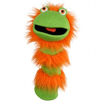 Puppet-Sockette-Silly-Hand Puppet-Ginger-Imaginative Children