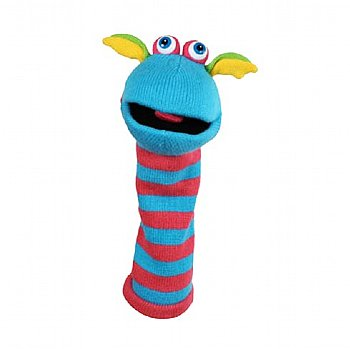 Puppet-Sockette-Silly-Hand Puppet-Scorch-Imaginative Children