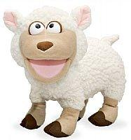 Hand Puppet-Silly Fluffy Lamb-11 inch