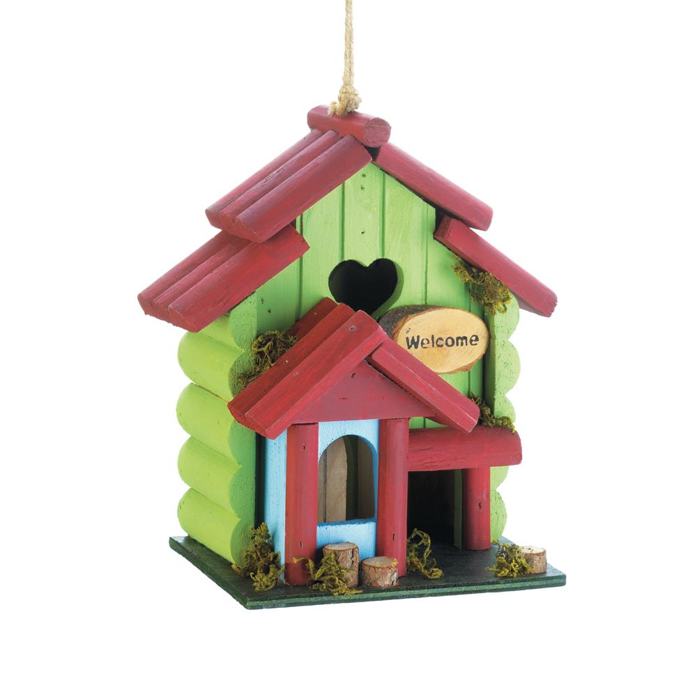 Birdhouse-Wood-Sweetheart- Nature Lover