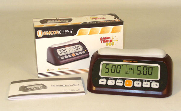 Digital Chess Clock and Game Timer - Seasonal Expressions