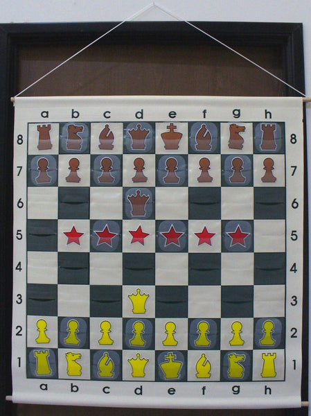 Giant Teaching Chess Board - Seasonal Expressions