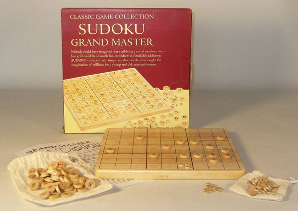 Wood Soduko Board Game - Expressions of Home