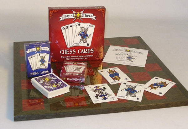 Royal Chess Card Game - Expressions of Home