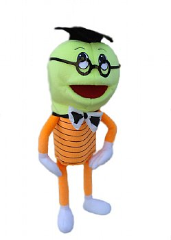 Blacklight Puppets-Glow in the Dark-Professor Watts