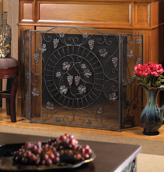 Fireplace Accessories-Screen-Vineyard Estate