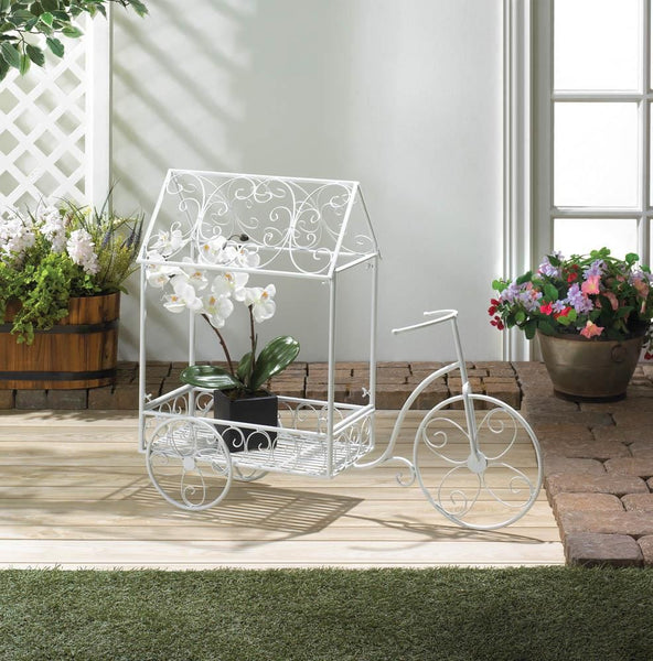 Plant Holder-Vintage-Bicycle House-Green Thumb