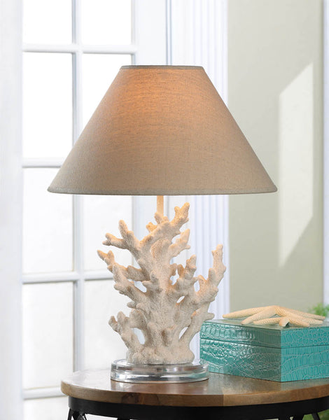 Lighting-Table Lamp-White Coral-Nautical
