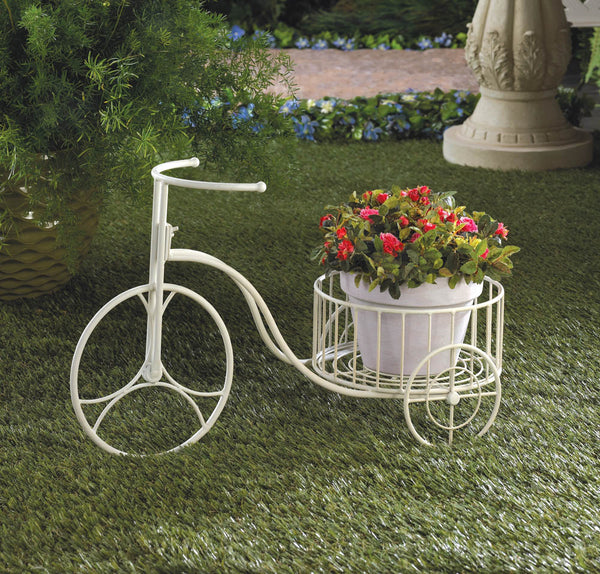 Garden Planter-White Tricycle