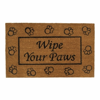 Welcome Mat-Wipe Your Paws-The Cozy Home