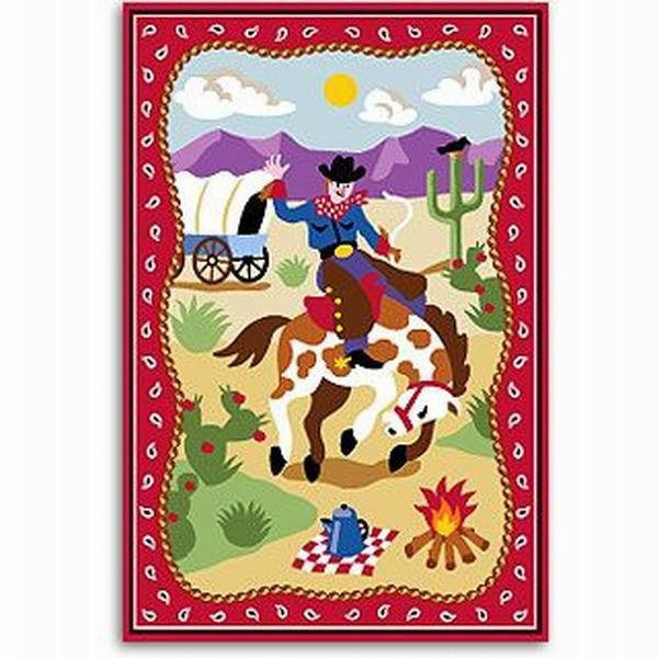 """Ride 'Em"" Unframed Art Print for Children - Expressions of Home"