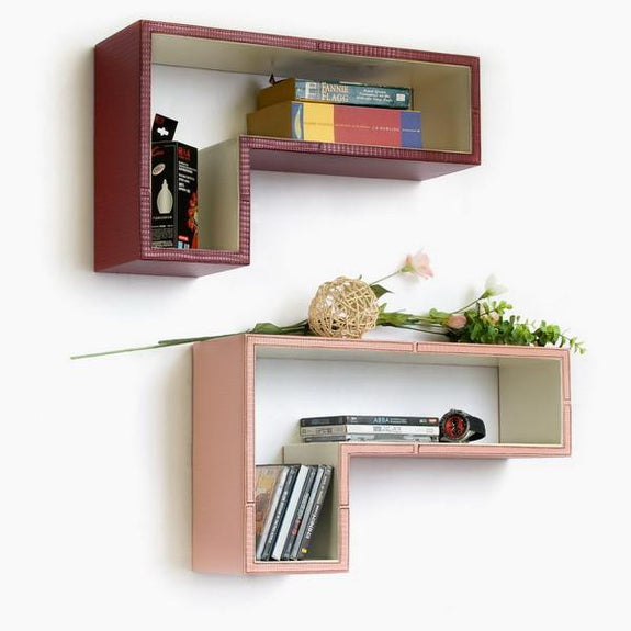 Gun-Shaped Wall Shelves; Trista, Set of 2 - Seasonal Expressions - 5