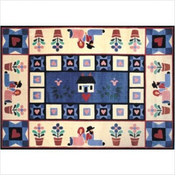 "Rug-Cozy Home-5'3"" x 7'6""-American Amish"