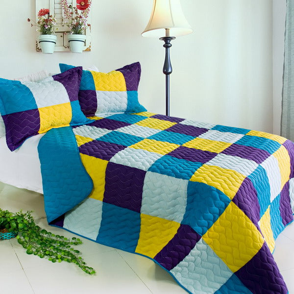 Quilt Set-Bed Linen-Full-Queen-Rhapsody