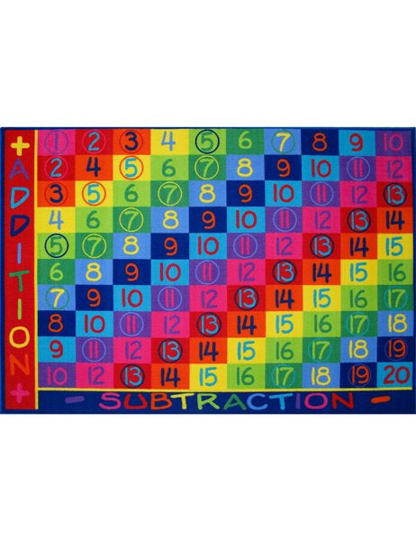 "Kid's Rug-5'3"" x 7'6"" OR 8' x 11'-Addition-Kids Decor"