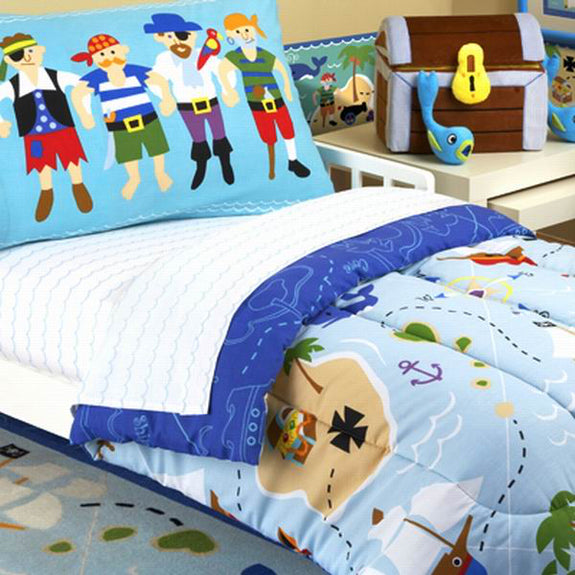 Bed Linen-Toddler Set-Pirates-The Kid's Collection