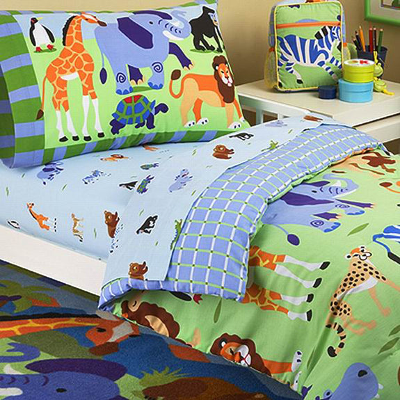 Bed Linen-Toddler Bedset-Wild Animals-The Kid's Collection