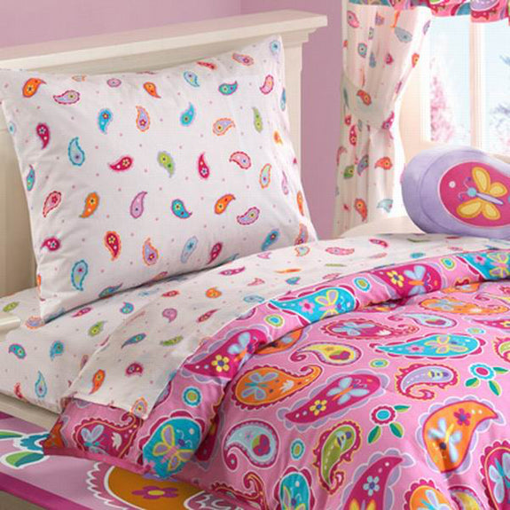 Bed Linen-Toddler Bedset-Paisley Dreams-The Kid's Collection
