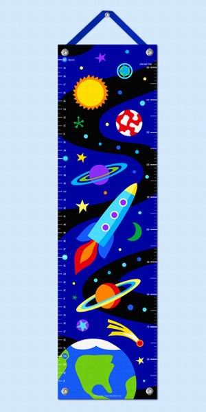 Growth Chart-Out of This World-Babies and Children-Kids Decor