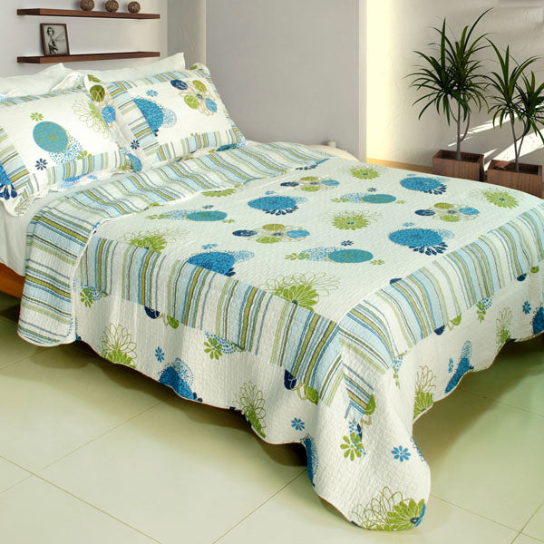 Bedding-Quilt Set-Full-Queen-Fresh Sound