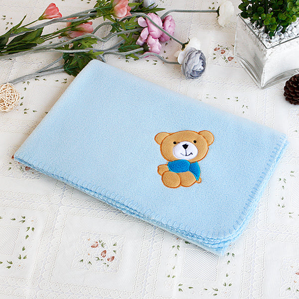 Fleece Throw-Babies-Children-Bear