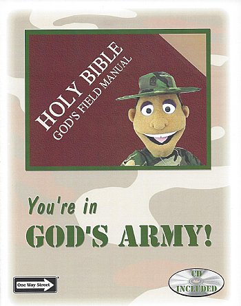 Puppet Scripts-Ministry-You're in God's Army