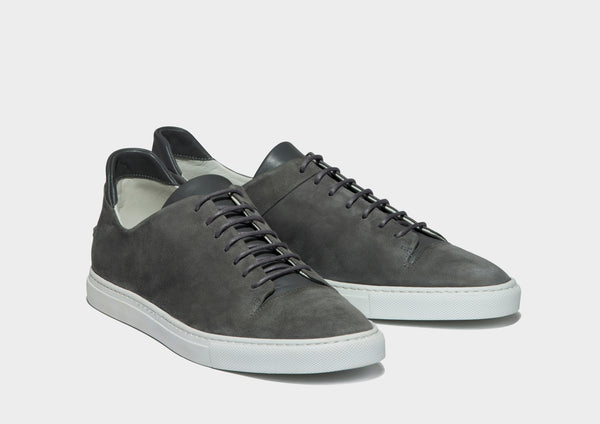 CLEAN LOW - GREY SUEDE