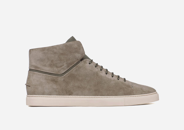 CLEAN MID - MILITARY SUEDE