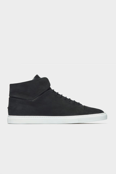 CLEAN MID - BLACK NUBUCK WMNS
