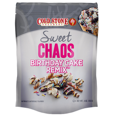 Sweet Chaos Cold Stone Birthday Cake Remix - front of bag