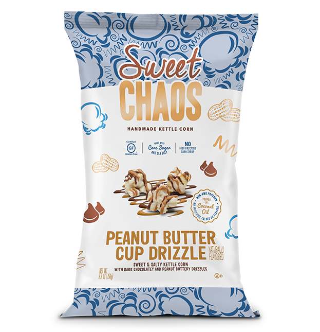 Sweet Chaos Peanut Butter Cup Drizzle - front of bag