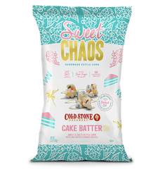 Sweet Chaos Cold Stone Cake Batter - front of bag